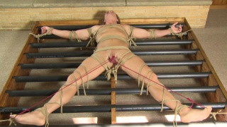 bound chris gets his hole fingered and more