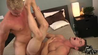Cain rides Kent's big dick