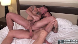 Max Cameron bottoms raw for Rocco Steele