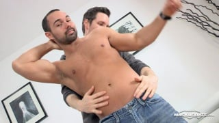 sucking alexandre's hot uncut cock