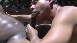 matt shoots a nice load in mario's ass