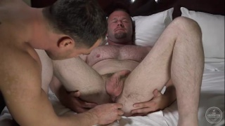 Dom and Chance play with butt plugs