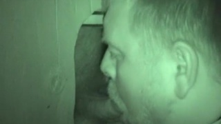 italian stud unloads at glory hole