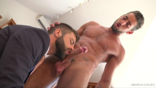 sexy HECTOR DE SILVA fucks MASSIMO PIANO