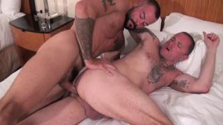 sean duran fills Max Cameron's eager butt