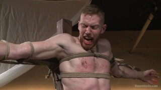 roman slave beaten in the dungeon