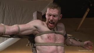 roman slave beaten in the dungeon