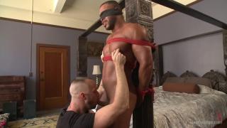 micah brandt's first bondage edging session
