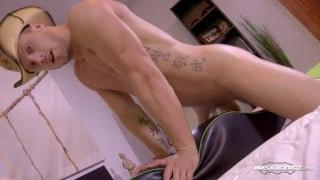 sexy cowboy jock fucks fleshjack mount