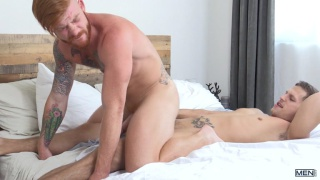 Bennett Anthony rides Roman Todd's cock
