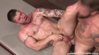 skippy baxter debuts with rocco steele