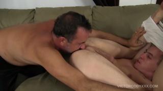 daddy and his boy flip fuck raw
