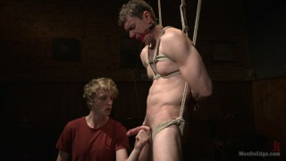 cock edging session for Brandon Blake