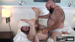 steve sommers rides big-bellied bear