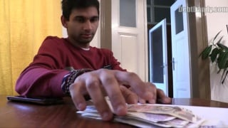 indian guy gives his ass up for some cash