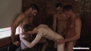 three guys share james lewis