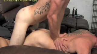 TJ pounds cocksucker with his huge cock