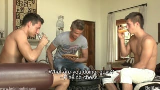 HOW DO you play strip chess?