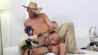 alex mason wears cowboy geat in casting video