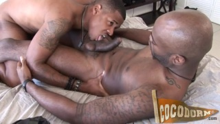 bald black top fucks his horny bottom