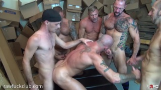 five top men fuck sean duran