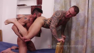 bare flip fuckers Mario Domenech and Dylan James
