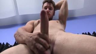 vaughan pumps his long cock
