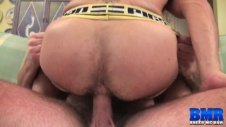 aarin asker rides luke harrington's 9-inch cock