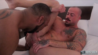 sean duran gives his bare hole to ray diesel