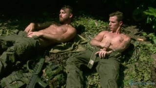 army recruits masturbating side by side