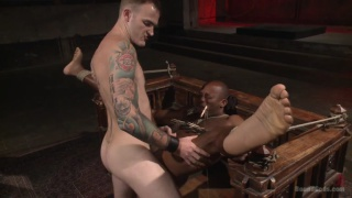 Christian Wilde trains Osiris Blade in his dungeon