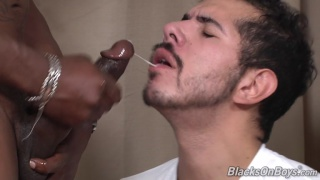 Jack Bloom is a black cock virgin