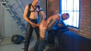 leather men fucking each other raw