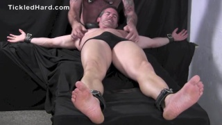 Muscle hunk Mitch is seriously ticklish