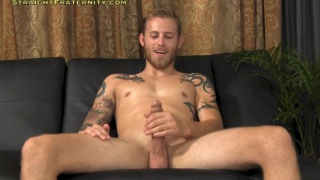 straight porn stud auditions for gay site