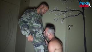 mike tiger sucks delta kobra's big cock
