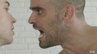 Damien Crosse fucks Gabriel Cross' hot bubble butt