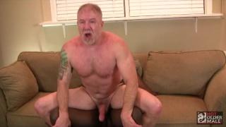 black stud stuffs daddy's juicy hole
