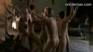 university students on naked run dare