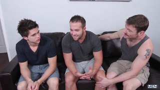 Will Braun and Luke Adams have threeway with dennis west
