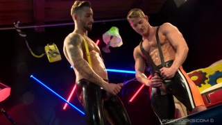 Darius Ferdynand and Nick North at uk hot jocks