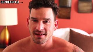 ripped stud Blake Jackson's first porno