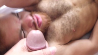 maverick men play with latin's fat uncut cock
