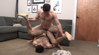 manny gives his hole to tanner