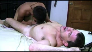 asian boy sucks his daddy's dick