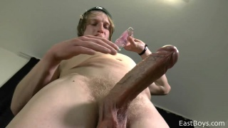 big-dicked skater Scott Bowen strokes off