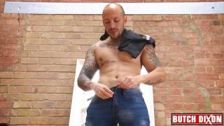 jordano strokes his dark Mexican dick