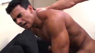 Muscle men have hot sex