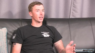 military guy graham's first JO video