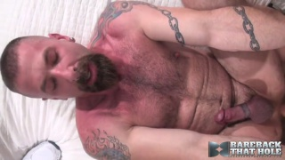 chris neal slides into jake wetmore's hairy butt